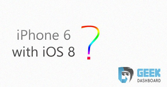 iPhone 6 with iOS 8