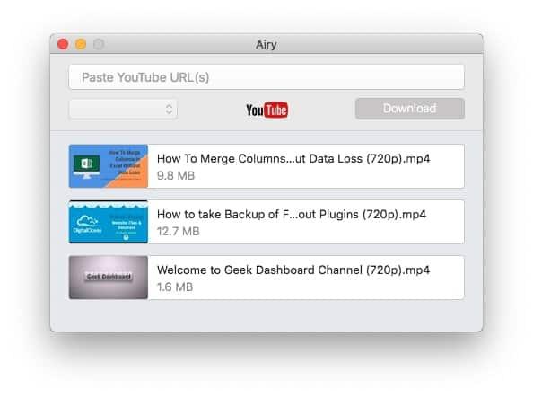 Airy Video Downloader Mac