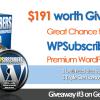 Great Chance to Win WPSubscribers Premium WordPress Plugin