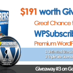 Great Chance to Win WPSubscribers Premium WordPress Plugin