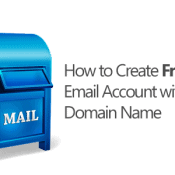 Create Free Email Account with Your Domain Name