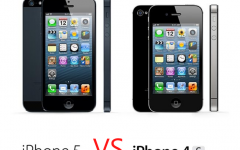 iPhone 4s vs iPhone5
