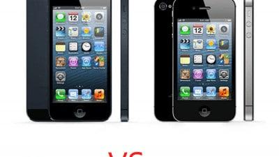 iPhone 4s vs iPhone5