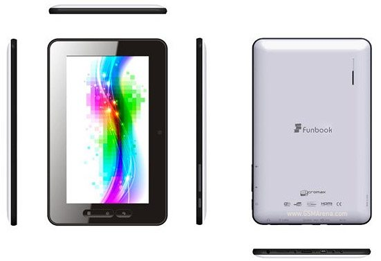 Micromax Funbook tablet under $200