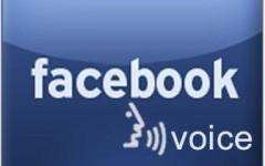 facebook voice