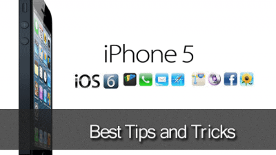 iphone5 tips and tricks