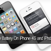 5 Tips To Boost And Save Battery On iPhone 4S and iPhone 5