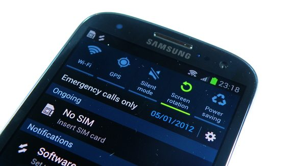 connectivitry options in Galaxy S3