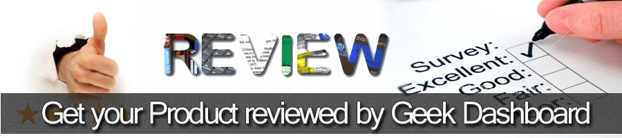 Order a review on Geek Dashboard