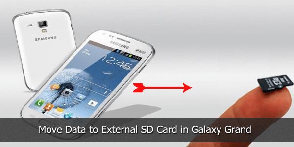 Move Data to External SD Card