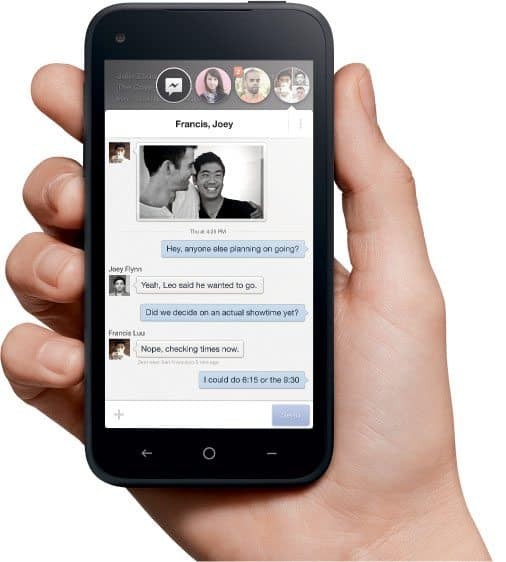 Facebook Home - Chat