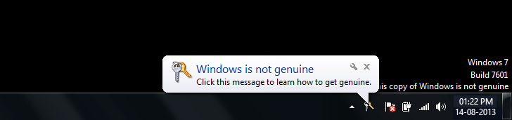 Windows is not genuine