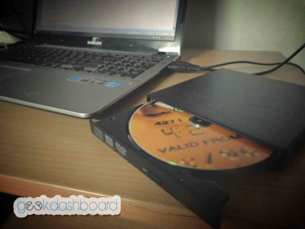 how to boot from external cd drive
