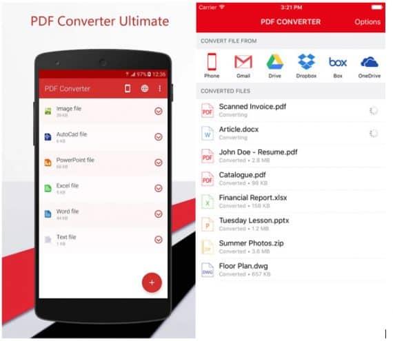 PDF converter to convert PDF files to text files