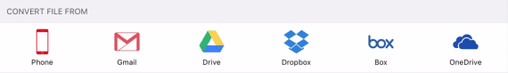 convert pdf to text and upload to cloud services like Dropbox and Google Drive