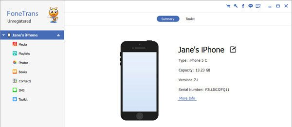 FoneTrans iOS Transfer - best iTunes alternative