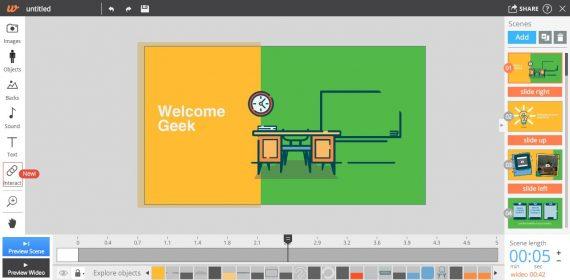best online video editor by wideo online