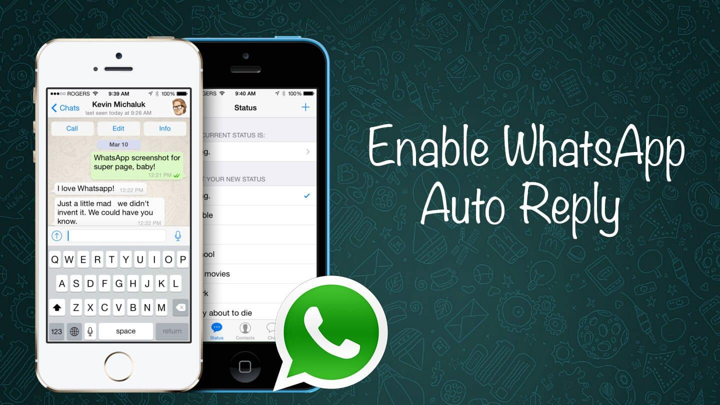 auto reply on iphone how to enable whatsapp auto reply on the iphone 2628