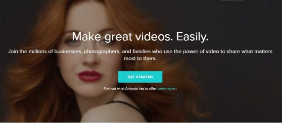 best online video editor by animoto