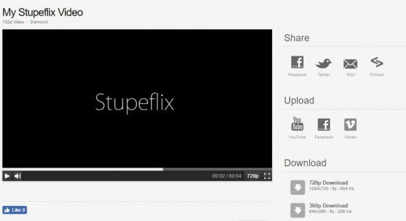 best online video editor by stupeflix producing the video