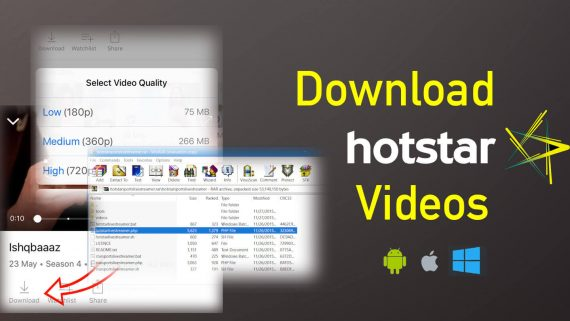 How to Download Videos from Hotstar [Android and iOS]