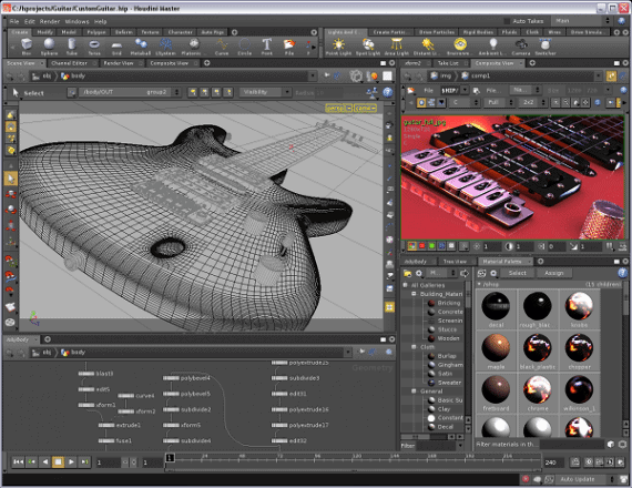Houdini - 3D Animation Software