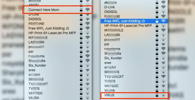 Funny Names List: Top 75 Best And Funny WiFi Names Of All Time + WiFi Name
