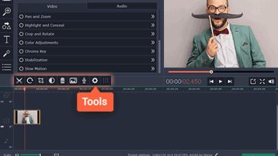 Movavi Screen Capture Studio Tools