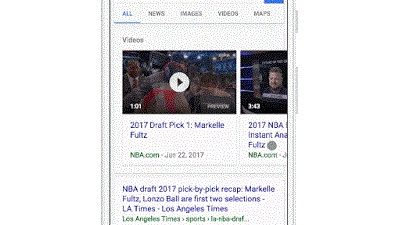 google video preview