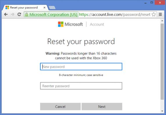 Https //Account.Live.Com/Password/Reset Zurücksetzen Windows 10