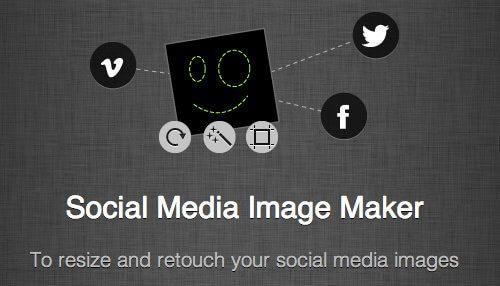social media image maker for Instagram