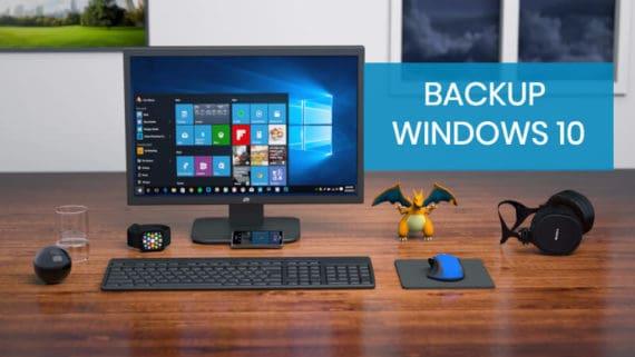 How to backup Windows 10 properly