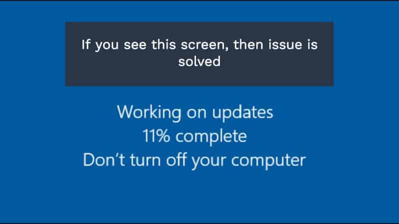 Fix Restoring Your Previous Version Of Windows Error In Windows 10