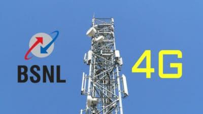 bsnl 4G network