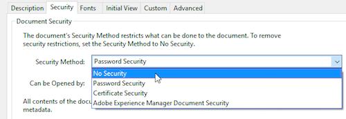remove password from pdf using acrobat reader pro