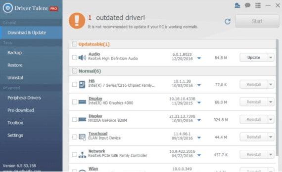 update drivers to fix windows 10 taskbar not working