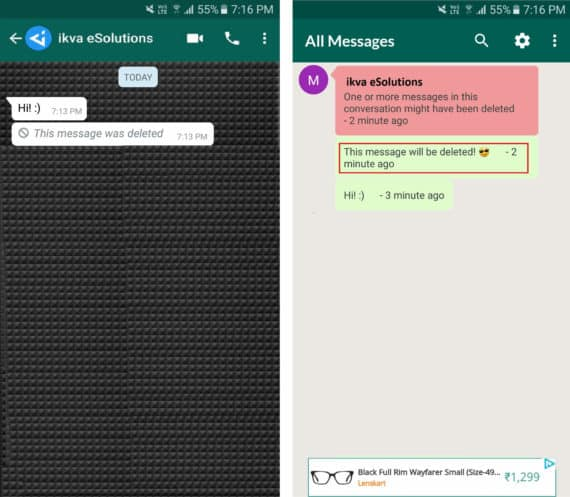 How To Read Deleted Messages In WhatsApp Someone Sent You