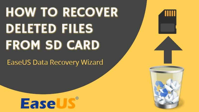 how to recover deleted files from sd card and USB disks