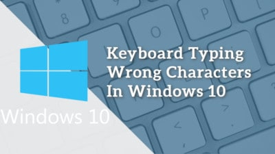 keyboard typing wrong characters