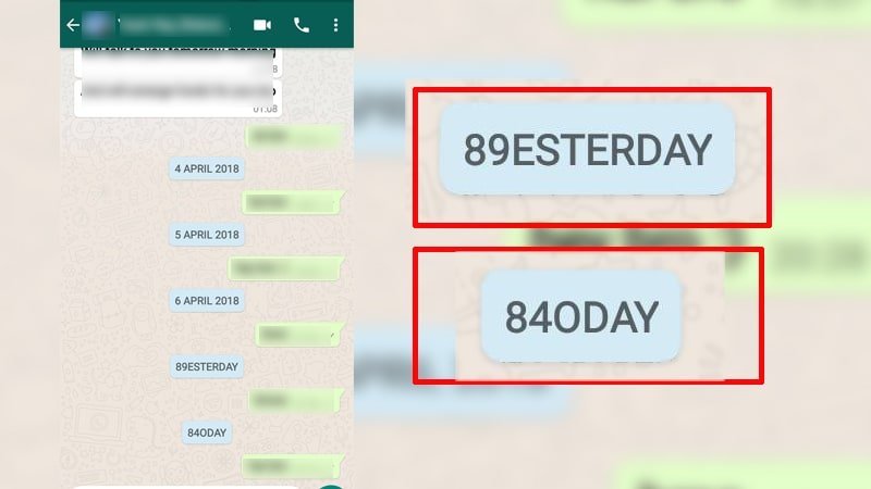 Whatsapp beta timestamp bug