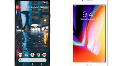 Google Pixel 2 XL vs Apple iPhone 8 Plus