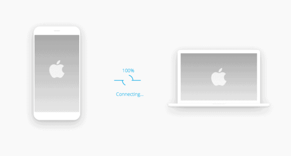 Connect your iPhone using USB