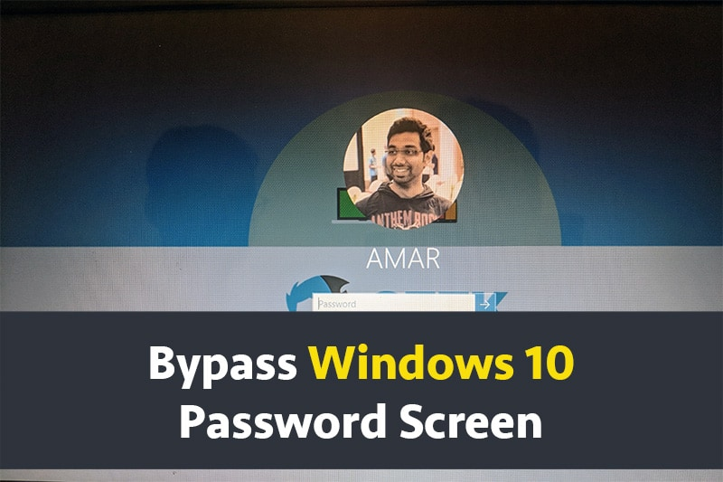 How to Bypass Windows 10 Password Screen using USB Recovery Disk