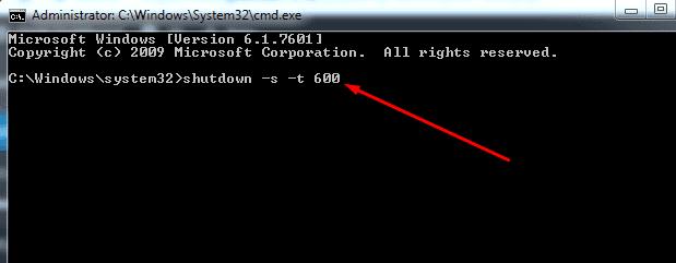 Auto shutdown Windows using CMD or PowerShell
