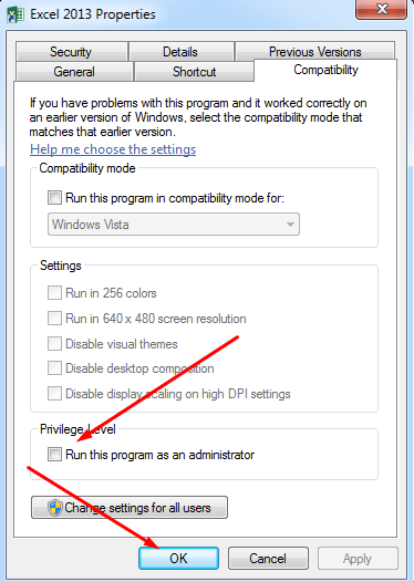 Disable Administrative Preveliges
