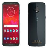 Motorola Moto Z3 Play Front and Back