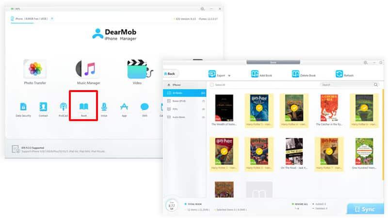 Transfer Apple Books to PC