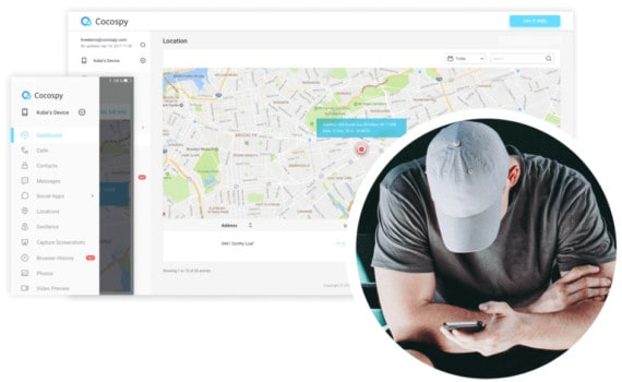 cocospy for location tracking