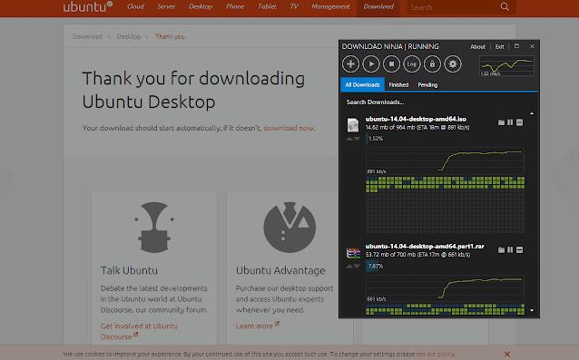 Download Ninja to accelerate download speeds