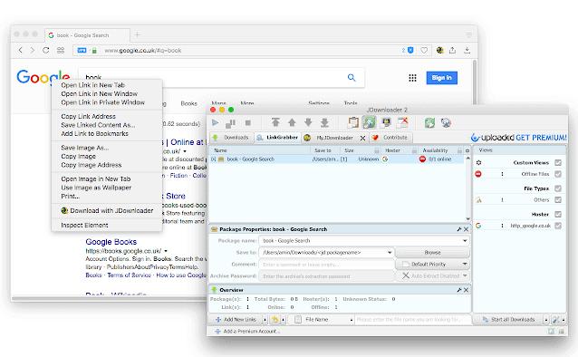 JDownloader for Google Chrome